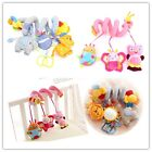 NEW 2pcs Baby Spiral Activity Hanging Soft Toy for Buggy Pram Cot Car Seat-LH