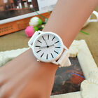 Geneva Unisex Silicone Rubber Sports Women Wrist Watch Jelly Gel Quartz Analog