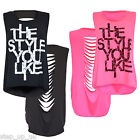 NEW Womens/Ladies/Girls 'The Style You Like' Sleeveless Slash Back Dipped Top