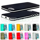 SLIM SOFT TPU BUMPER CASE COVER FOR APPLE iPHONE 5 5S 4 4S