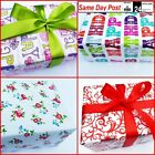 Luxury Gift Wrap Packaging Wrapping Paper sheets 70cmx2m Birthday Party Craft