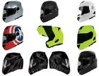 TORC T-27 T27 MODULAR MOTORCYCLE HELMET (Blinc or Non-Bluetooth)