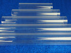 Plastic Clear Cylinder Tubes Decorative Crafts Table Centerpiece Risers Aquarium