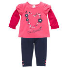BNWT BABY GIRLS 2PC SET ROUGE RED LS TOP NAVY LEGGINGS CHOOSE 00 OR  0 ~ NEW