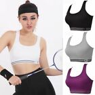 Womens Slim Sexy Sport Yoga Jogging Boxing Fit Bra Padded Stretch Tops Tank Q