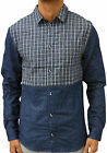 Mens Humor Jeans Designer Long Sleeve Stylish Shirt Smart Casual Going Out Top