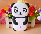 Black White Funny 3D Panda Bear Case Cover for iphone ipod MOBILE PHONES