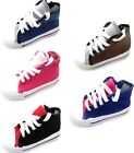 KIDS BOYS GIRLS TRAINERS CANVAS BOOTS BRAND NEW #921
