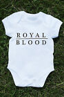 Royal blood baby vest figure it out rock come on over little monster music K486
