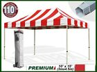 Eurmax Canopy Premium 10X15 Carnival Ez Pop Up Canopy Tent Commercial Canopy