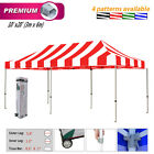Eurmax Premium Canopy Carnival 10x20 Ez Pop Up Canopy Tent Commercial  Gazebo