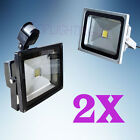 Classic,PIR LED Floodlight 2X 30W SMD Outdoor Garden Flood Lamp Security IP65