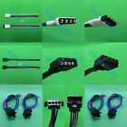 Male+Female Power Cable Connect Driver Supply for RGB LED Flexible Strips Light