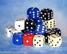 10mm Opaque D6 Spot Dice Games Warhammer RPG Six Sided