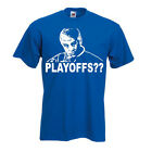 """Jim Mora Indianapolis Colts Andrew Luck """"PLAYOFFS"""" T-shirt Onsie S-XXXXXL"""