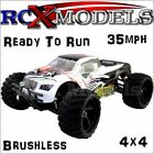 Fast RC Brushless Monster Truck Off Road 4x4 1/18 Mini Radio Remote Control Car