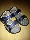 Next Boys Blue Trekker / Trekking Velcro Sandals Size 1, 2