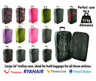 """Large lightweight 26"""" Luggage Suitcase trolly Bags-Perfect for 15kg hold baggage"""