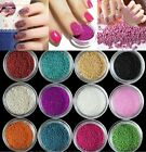 Fashion 20g Acrylic Mini Tiny Ball Beads Caviar Nail Art Tips Decoration 18Color