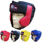 Rex Leather Boxing Head Guard / Helmet Face Protection Kick Boxing Guard Adults