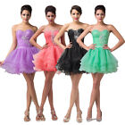 Short Quinceanera Prom Party Bridesmaid Evening Formal Cocktail Homecoming Dress