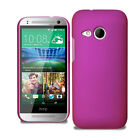 For HTC One Mini 2 II Slim Hybrid Hard Case Clip On Cover & Screen Protector