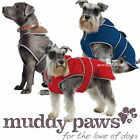 ANCOL MUDDY PAWS STORMGUARD SHOWERPROOF COAT WITH FLEECE THERMAL LINING