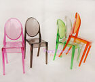 1/6 Scale Barbie Furniture Transparent Chair One Piece Five Color Available