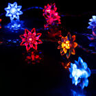 5M 50 LED Battery Powered Lotus Flower String Fairy Light For Party Wedding