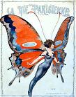 "La Vie Parisiene  ART DECO STYLE "" FAIRY FLIGHT"" REPRINT from 1920's Magazine"