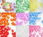 Acrylic Bicone Beads, 500x4mm, 400x6mm, 300x8mm You choose Size and Colour