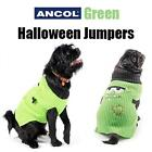 Ancol Warm Green Halloween Dog Jumper Monster Fancy Dress Costume Outfit