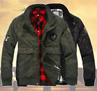 New Men Fashion MA1 US Air Force Pilot Army Work Bomber Jacket Aviator Two Color