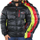 Geographical Norway Deep Men Herren Winter Jacke Steppjacke Daunen Jacke