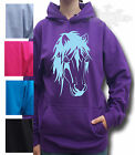 HORSE, NATIVE PONY, t-shirt HOODIE Child`s & Adult`s S to XXL *PONIES HEAD*