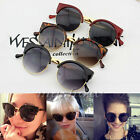 Fashion Retro Women Vintage Round Frame Sunglasses UV400 Eyewear Glasses New