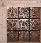 "SELECTION OF 9 ""ART NOUVEAU"" BOOKPLATES Printing Blocks"