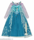 Disney Frozen Elsa Fancy Dress Costume by George - Ages 5-6, 7-8 or 9-10 years