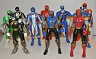 mighty morphin power rangers action figures Red Blue Black Green SDP Nitro
