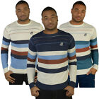 Raiken Parkin Fine Knitted Striped Jumper  Mens Size