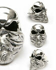 PS ROOM 101 by Matt Booth Bandit Skull ring sterling silver 925 Limited Edition