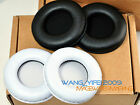 White Black Leather Ear Pads Replacement Cushions For Yamaha YH100 Headphones