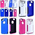 Authentic OtterBox Commuter Series Case for iPhone 5 5s Black White Pink Blue