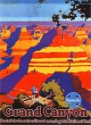 132 Vintage Travel Poster  Grand Canyon  America