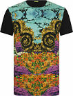 Versace Jeans Large Floral Print T-Shirt Multicoloured