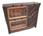 BUNNY BUSINESS HUTCH COVER TO FIT BB-48-DH & BB-48-DDL-TR DOUBLE DECKER HUTCH