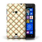 STUFF4 Back Case-Cover-Skin for Nokia Lumia 625-Criss Cross Pattern
