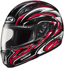 HJC CL-Max 2 Atomic Red Modular Motorcycle Helmets
