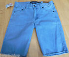Quiksilver boy cotton denim shorts 13-14 y BNWT