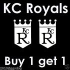 Kansas City Royals Decal | Car Decal for KC Royals - Buy 1 get 1 Free ! - *Hot* on Ebay